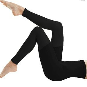 Spanx Fabulous Footless High Waisted Tights Black